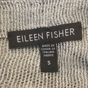 Eileen Fisher Tops - Eileen Fisher Boatneck Linen Popover Small